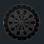 "Black and Grey Dart Board<br><div class=""desc"">Black and Grey Dartboard Pattern!</div>"