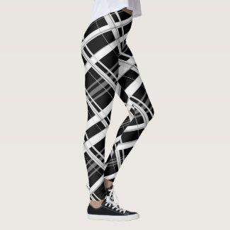 Black and Grey Leggings
