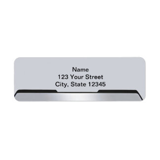 Black and Grey Rearview Mirror on Grey Label
