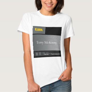 Black and Grey Stripes and Cubes T-Shirt
