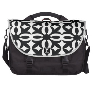 Black and Ivory Lace Commuter Bags
