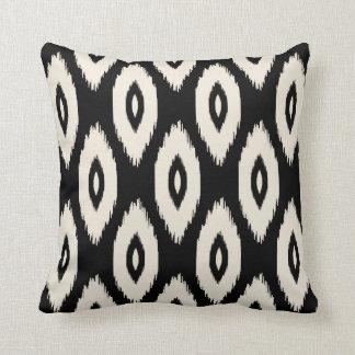Black Tribal Throw Pillow : Ikat Pillows - Decorative & Throw Pillows Zazzle
