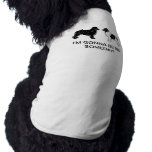 Black and Landseer Newfoundland Dogs Pet Clothes