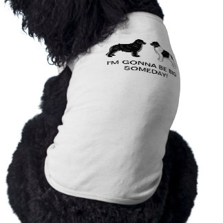 Black and Landseer Newfoundland Dogs Tee