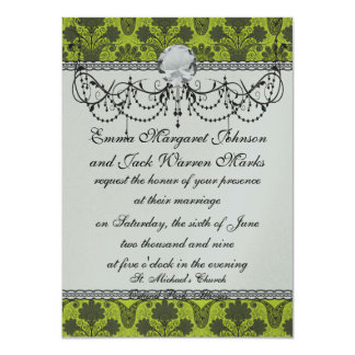 black and lime green damask.ai card