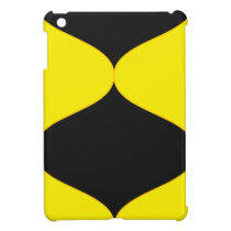Black and Nu Gold Smooch Case For The iPad Mini