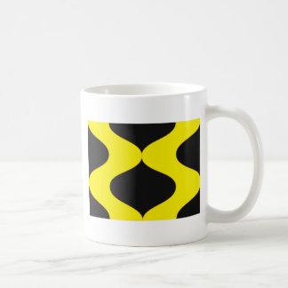 Black and Nu Gold Smooch Coffee Mug