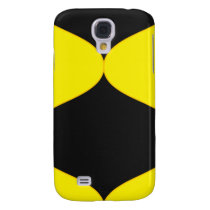 Black and Nu Gold Smooch Samsung Galaxy S4 Cover