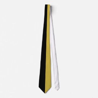 Black and Old Gold Two Color Tie