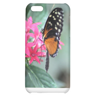 Black and Orange Butterfly iPhone 5C Covers