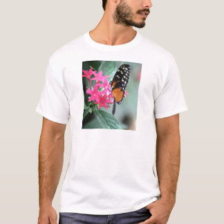 Black and Orange Butterfly T-Shirt