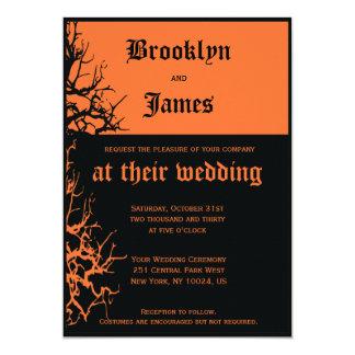 Halloween Wedding Invitations | Zazzle