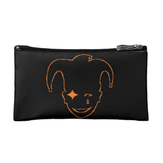 Black And Orange MTJ Makeup Bag