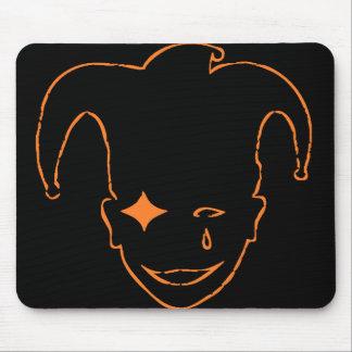 Black And Orange MTJ Mouse Pad