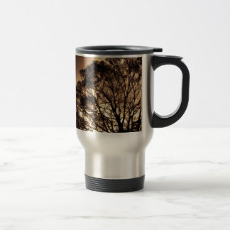 Black and Orange Mugs