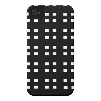 Black and Pink Checker iPhone 4 Case-Mate Case