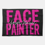 Black and Pink Kitchen Towels