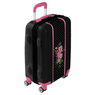 Black and Pink Pretty Ugo Luggage