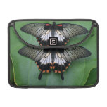 """Black and Pink Swallowtail 13"""" MacBook Sleeve Sleeves For MacBook Pro"""