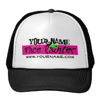 Black and Pink Trucker Hat
