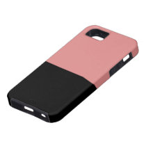 Black and Pink Vibe iPhone 5 Case