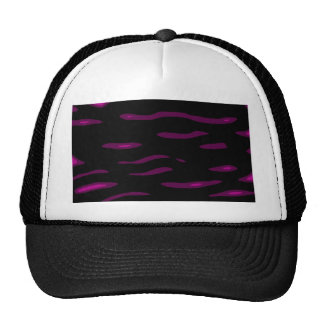 Black and purple design by Moma Trucker Hat