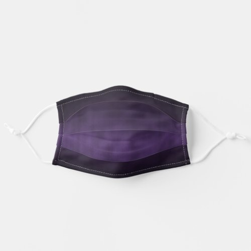 Black and Purple Gothic Ombr Art Cloth Face Mask