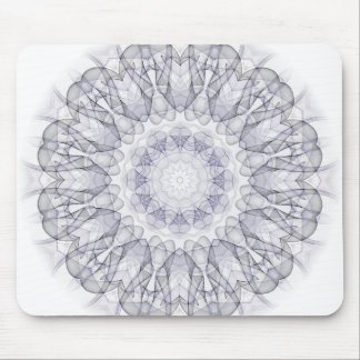 Black and Purple haze Kaleido Mouse Pad