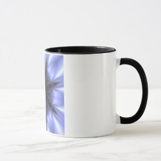Black and Purple Kaleidescope Cofee Cup