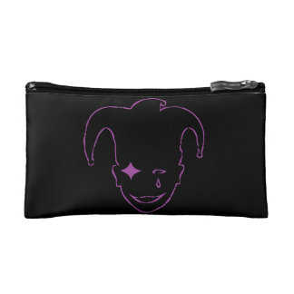 Black And Purple MTJ Makeup Bag