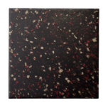 black and red and white speckled pattern ceramic tiles