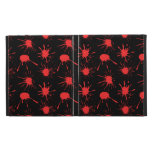 Black and Red Blood Splatters Pattern iPad Folio Cover