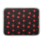 Black and Red Blood Splatters Pattern Sleeve For MacBook Air