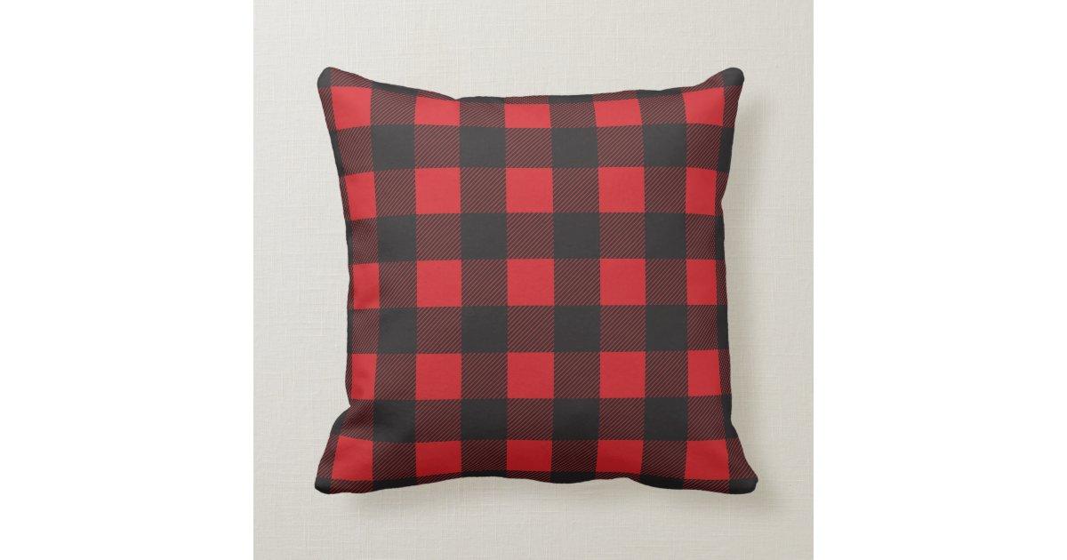 Plaid Throw Pillows Burgundy Plaid Throw Pillows