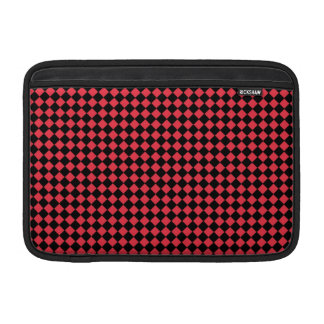 """Black and Red Checkered 11"""" MacBook Sleeve"""