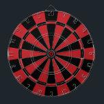 "Black and Red Dart Board<br><div class=""desc"">Black and Red Dart Board. 