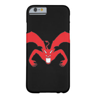 Black And Red Devil Barely There iPhone 6 Case