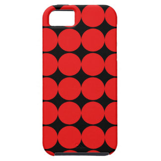 BLACK AND RED DIAMONDS iPhone SE/5/5s CASE