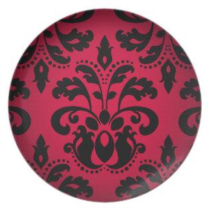 Victorian Gothic Plates   Zazzle