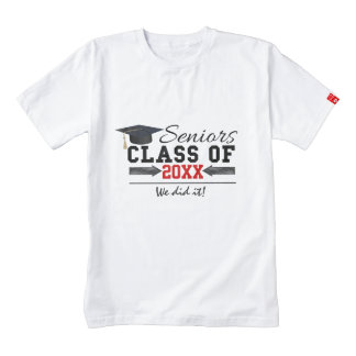 Black and Red Graduation Gear Zazzle HEART T-Shirt