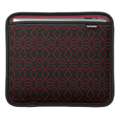 Black and Red Ipad Sleeve