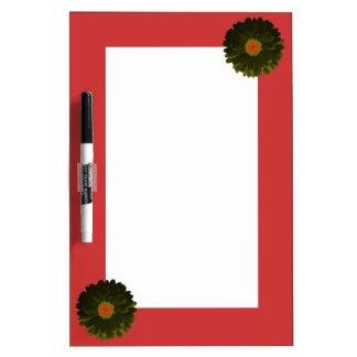 Black and Red Marigold Memo Board