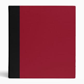 Black and Red Maroon Binder