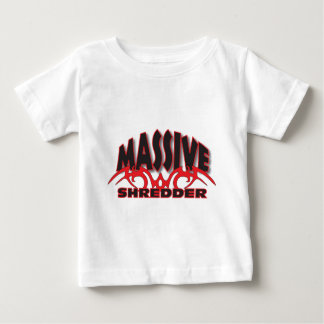 Black and red massive baby T-Shirt