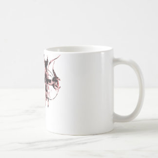 Black and Red Moon Cross Coffee Mug