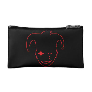 Black And Red MTJ Cosmetic Bag