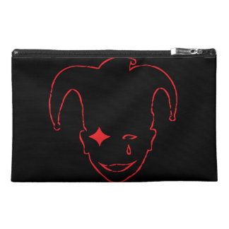 Black And Red MTJ Travel Accessories Bag