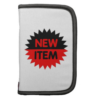 Black and Red New Item Organizer