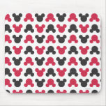Black and Red Pattern Mouse Pad