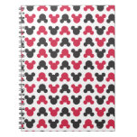 Black and Red Pattern Notebooks